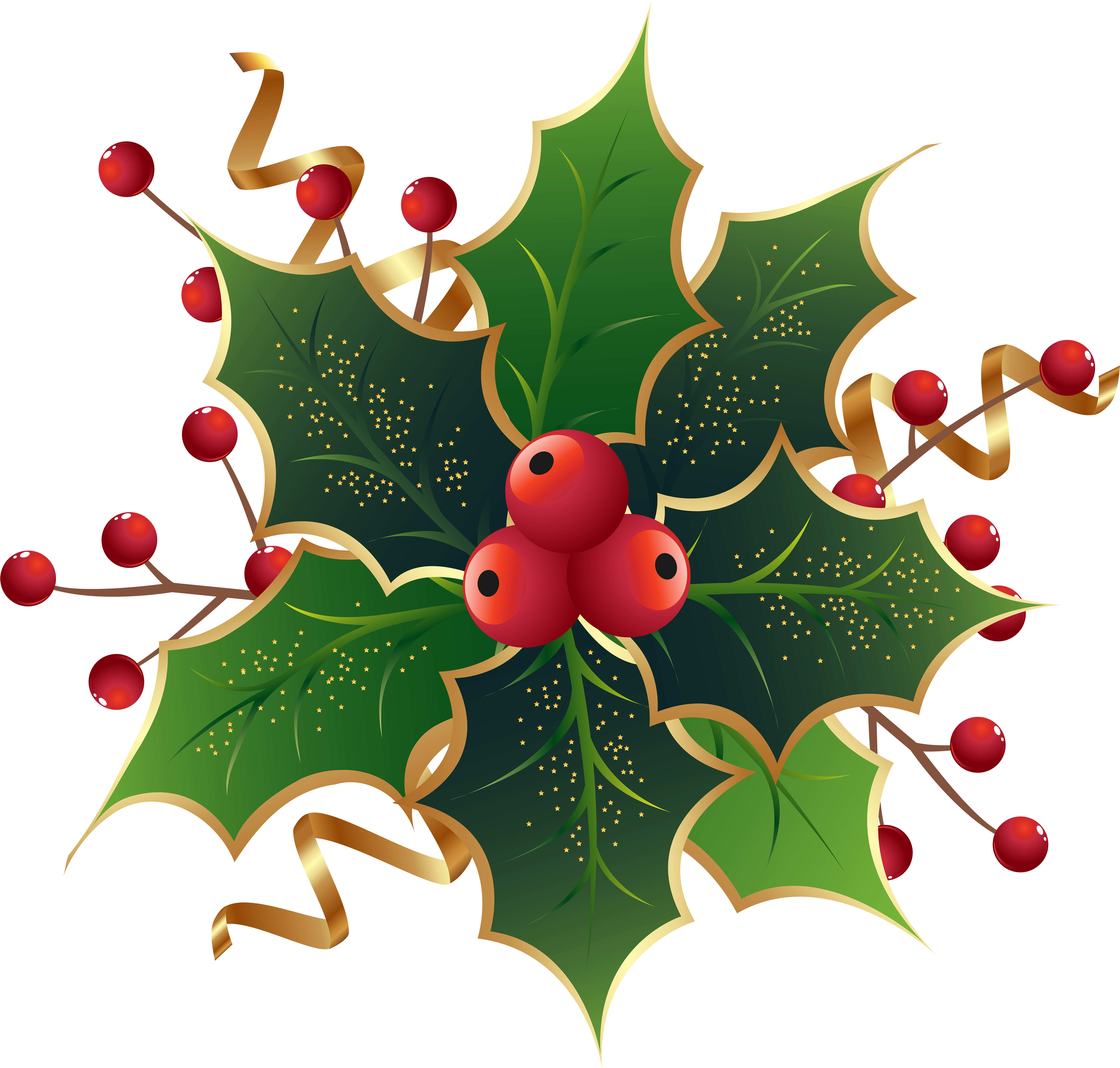 Download and share clipart about Christmas Holly Mistletoe