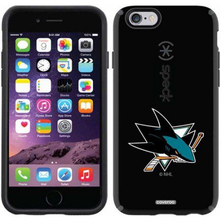 San Jose Sharks Primary Logo Design on Apple iPhone 6 CandyShell Case by Speck
