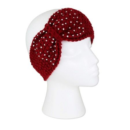 Women s Headband with Matching Adorned Bling Bow - Sylvia Alexander   Target 8685ec61453