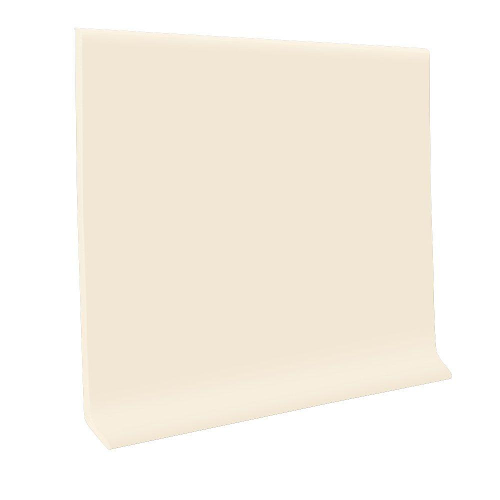 Roppe Bisque 4 In X 48 In X 0 080 In Vinyl Wall Cove Base 30