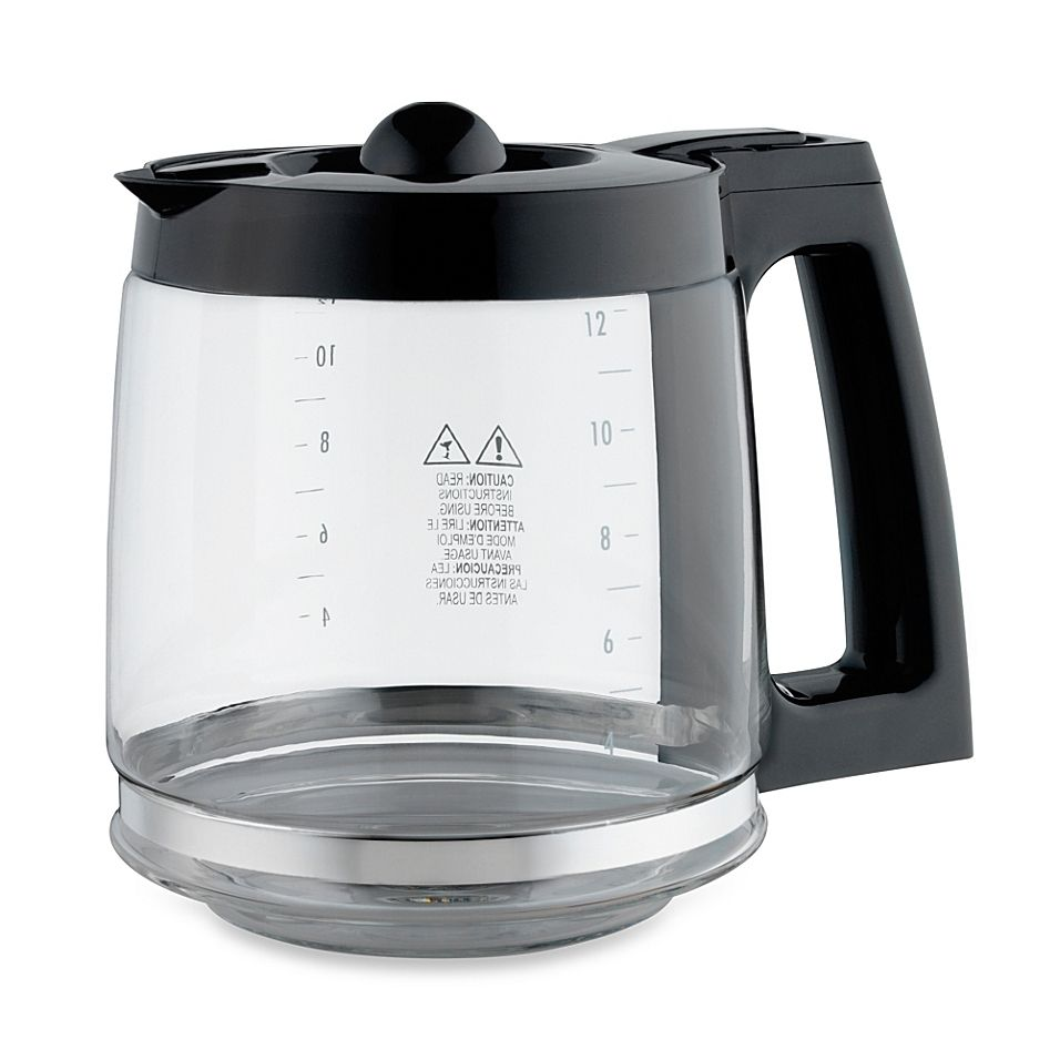 Replacement 12Cup Coffee Carafe for Hamilton Beach