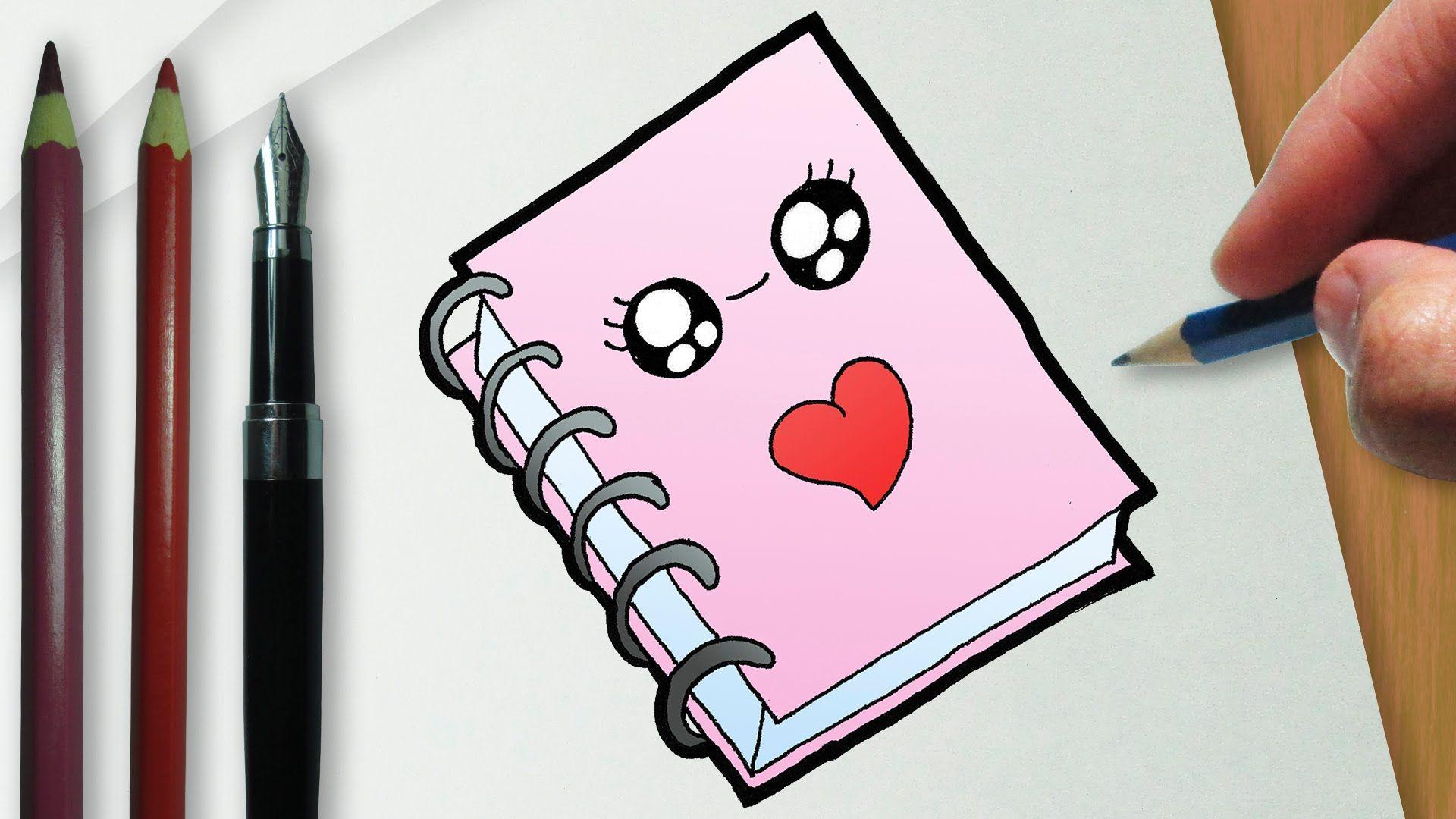 Fotos Tmbler Fofo Como Desenhar Um Caderno Kawaii Fofo