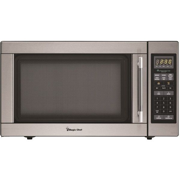 Magic Chef 1 6 Cubic Foot Countertop Microwave Oven 135