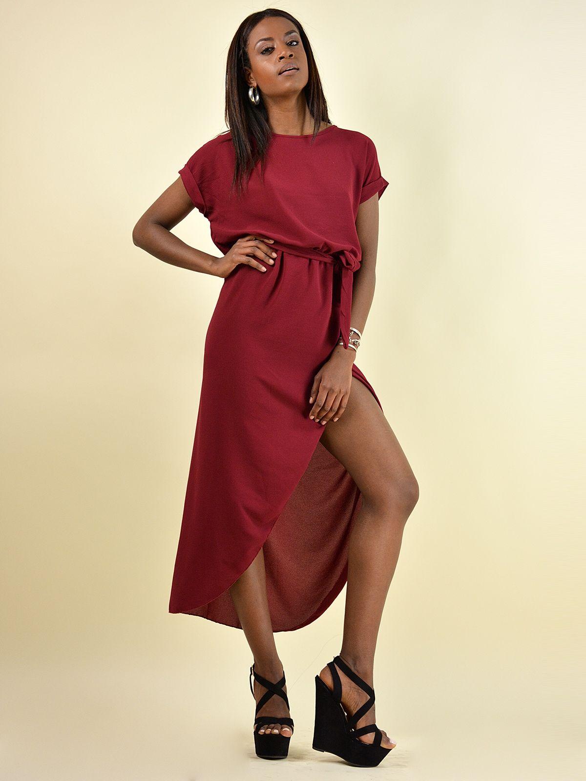 440fa7e1f8a F20801 Φόρεμα Ασύμμετρο με Ζωνάκι - Decoro - Γυναικεία ρούχα ...