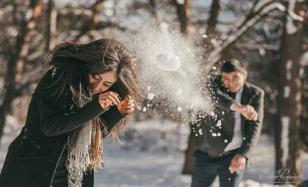 Photo of Wedding Couple Winter Snow 32+ Ideas