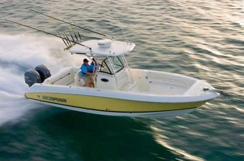 Wellcraft 30 Tournament Center Console With Yellow Hull Center