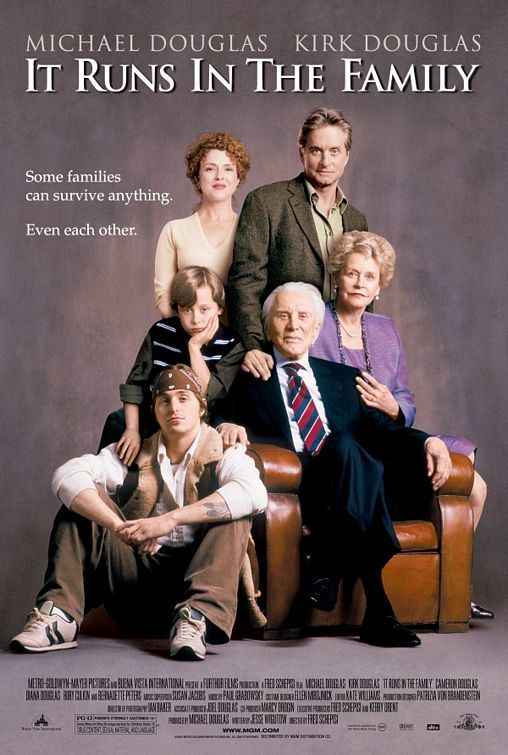 Now Playing It Runs In The Family 2003 Family Movie Poster Family Poster Family Movies