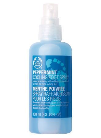 The Body Shop Peppermint Cooling Foot Spray 6 Foot Spray The