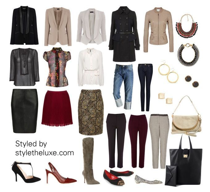 Wardrobe Capsule Professional Styletheluxe Capsule