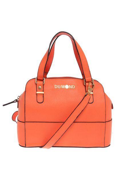 d3d8c3e18 Bolsa Dumond Laranja - Compre Agora