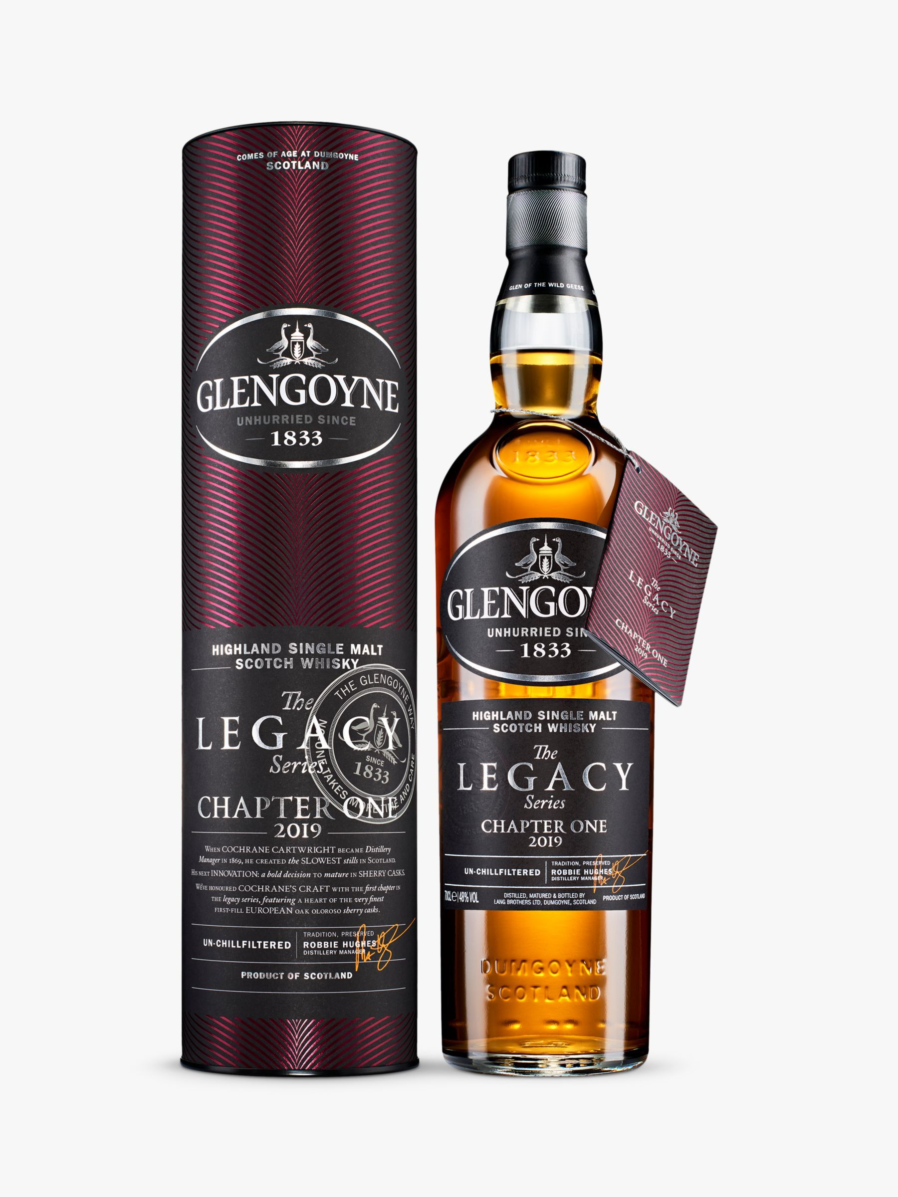 Glengoyne Legacy Series Chapter One Whisky 2019 70cl Whisky