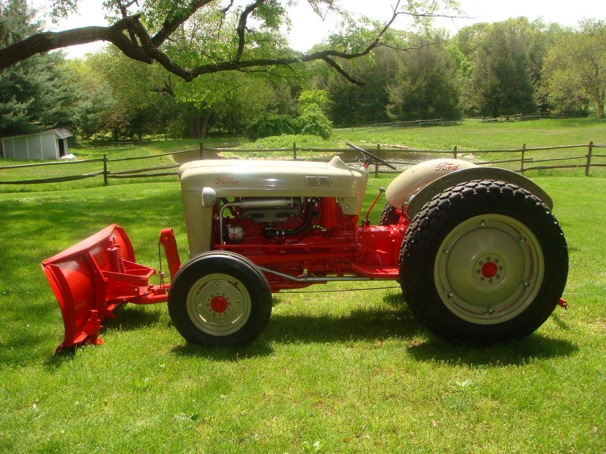 1953 Ford 1953 Naa Golden Jubilee For Sale Hemmings Motor News Ford Tractors Old Tractors Ford