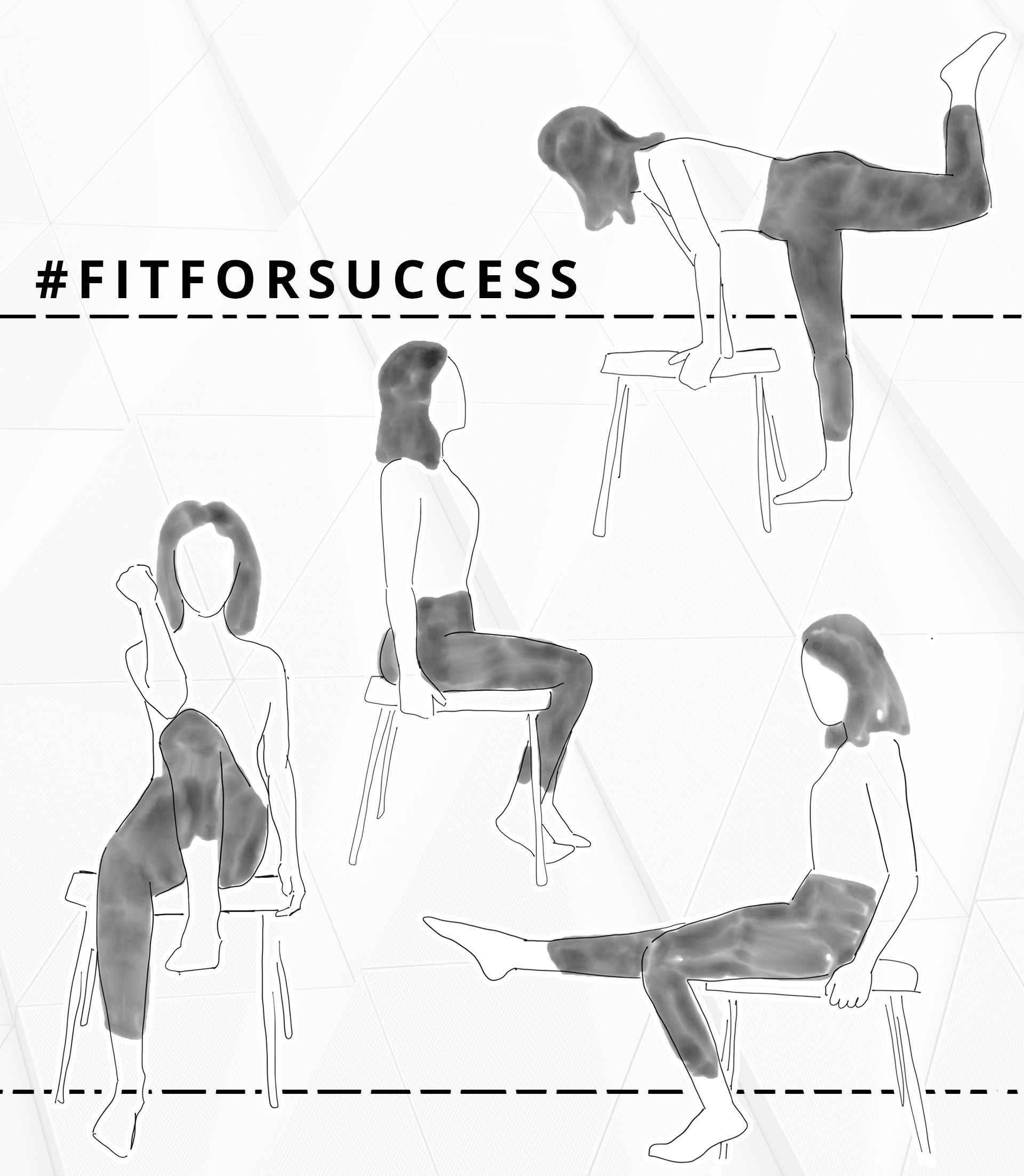 fitforsuccess effektives b ro workout f r bauch beine po und r cken business karriere. Black Bedroom Furniture Sets. Home Design Ideas