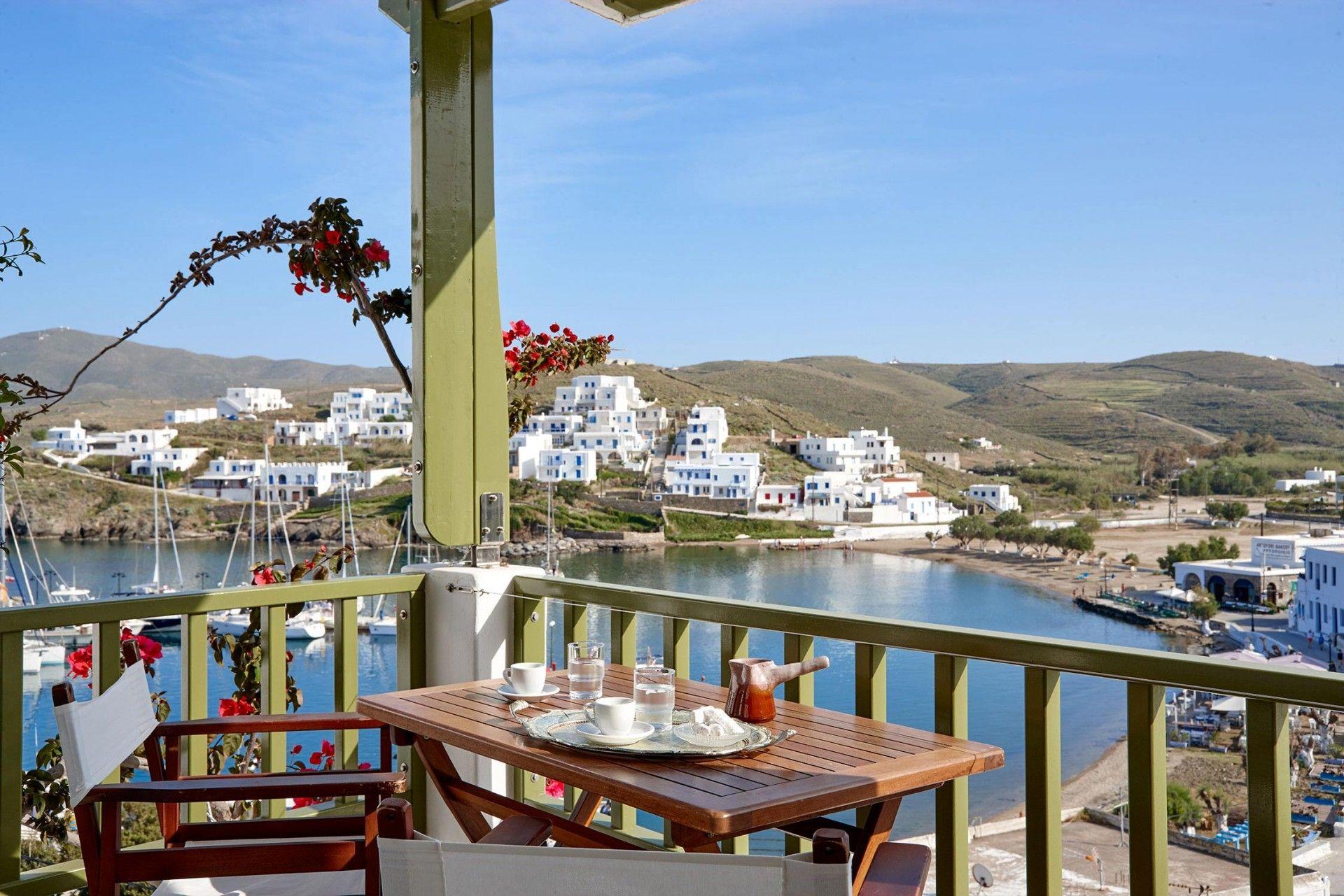Porto Klaras Studios and Apartments in Kythnos Kythnos Island Our