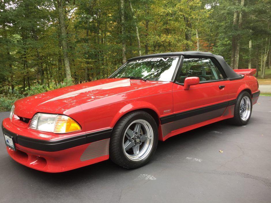 1989 Ford Saleen Mustang Convertible | Mustang convertible ...