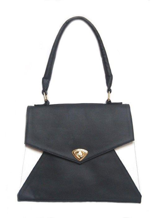 Bolsa Maki Negro-Blanco $390.00 MXN