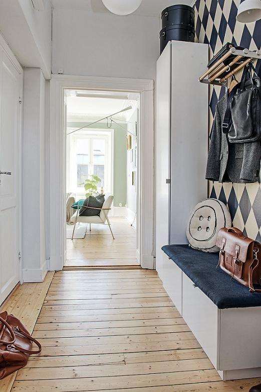 Una casa escandinava fresca y natural