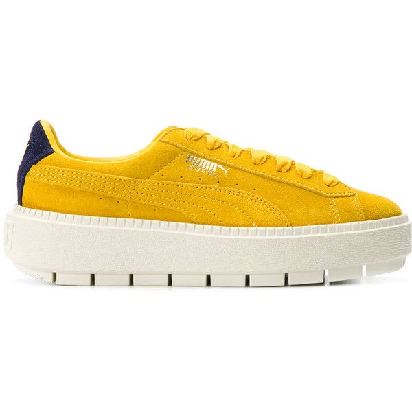 Buy puma platform yellow - 61% OFF