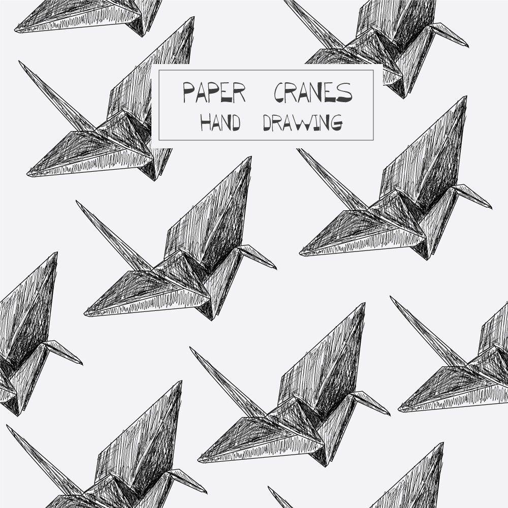 Origami Fliegender Vogel