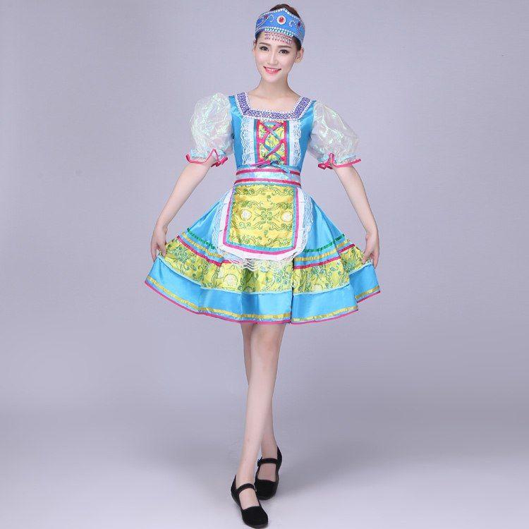 Pas Cher Costumes De Danse Folklorique Classique Femme