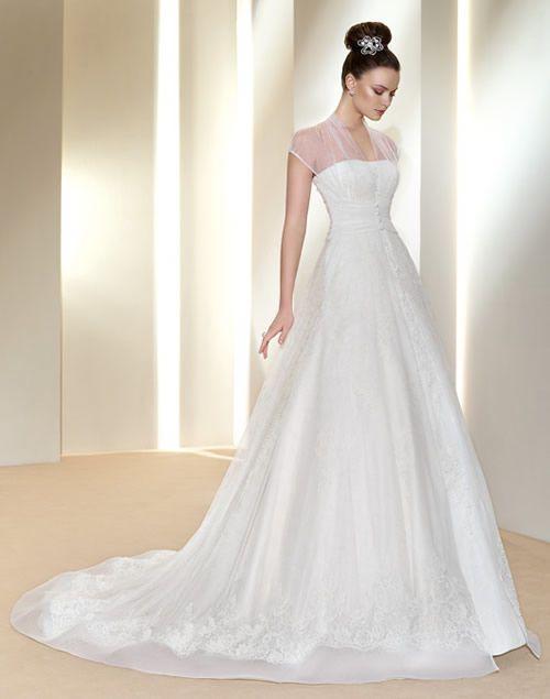 vestidos de novia clsicos Vestidos Pinterest