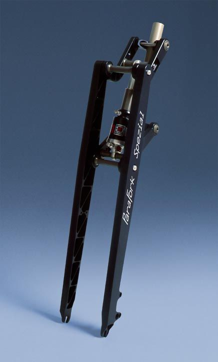 girder suspension | As little bike as possible, as silent as possible.