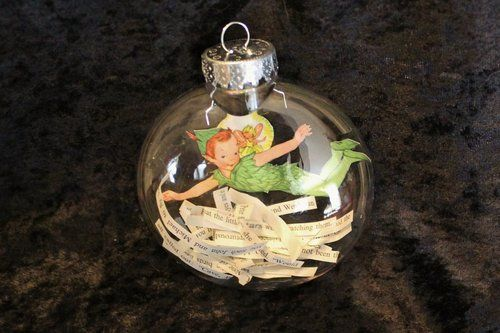 peter pan ornament with quotes inside - Peter Pan Ornament With Quotes Inside DIY:crafts|hacks Pinterest