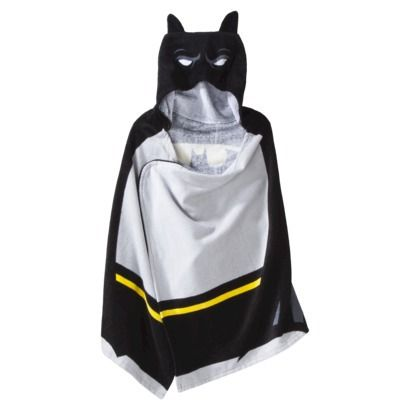 Batman Hooded Towel Target for Rico and Grady Kids