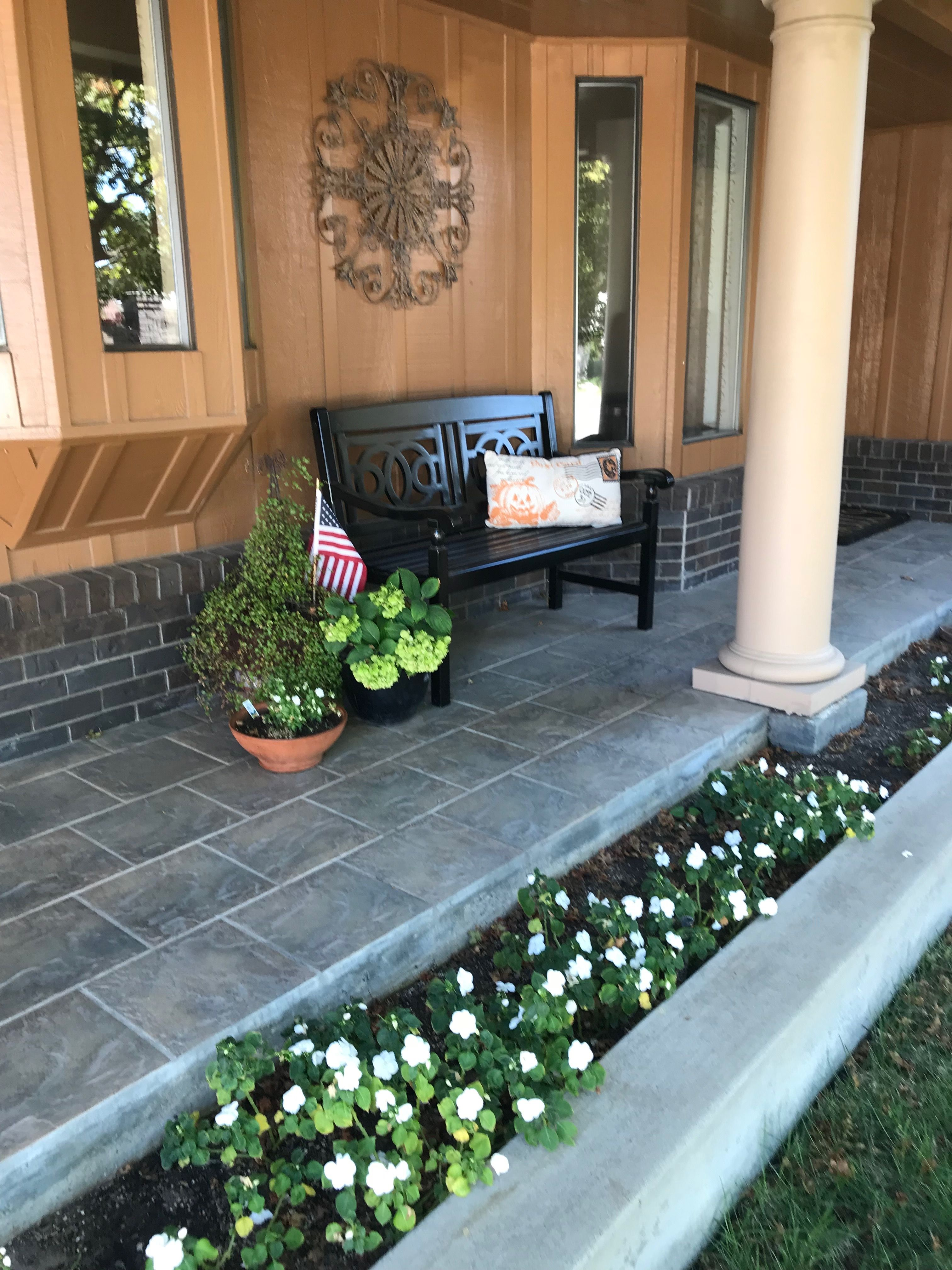 Pin by Micki Alkire on Front Porch   Outdoor decor, Patio ...