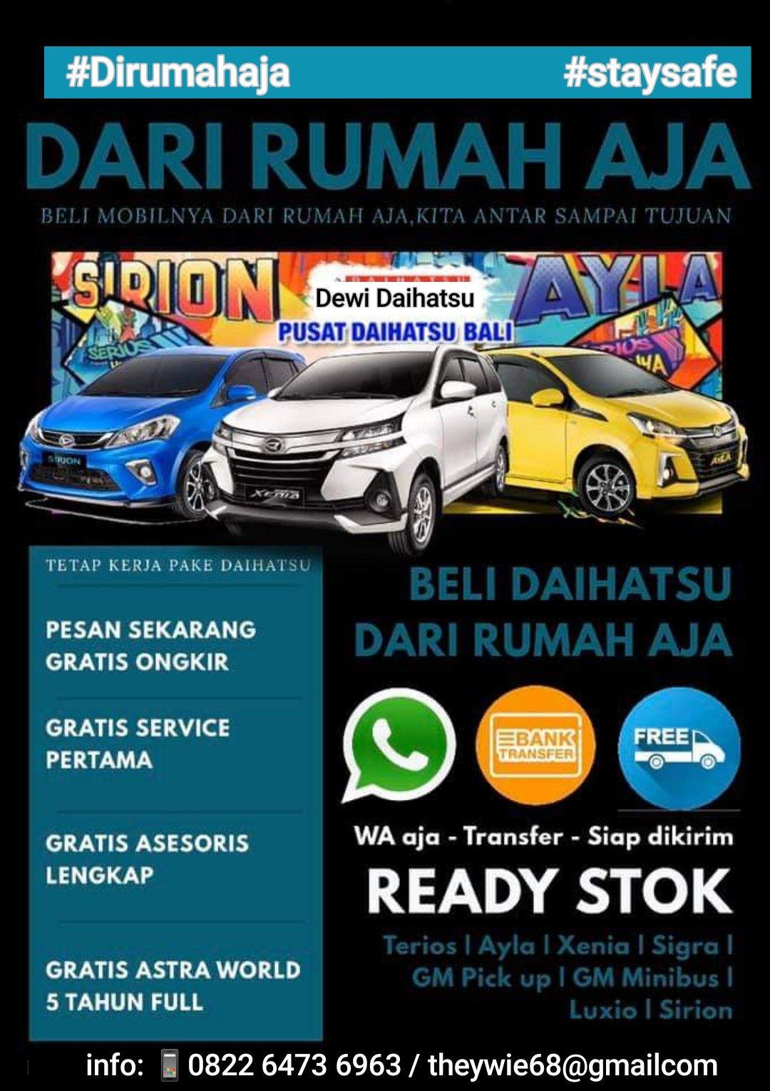 Kredit Mobil Baru Murah Mobil Baru Mobil Daihatsu