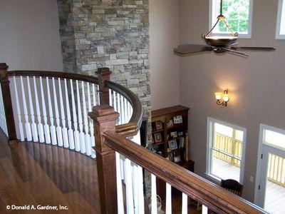 balcony loft house plan - Balcony Loft House Plans