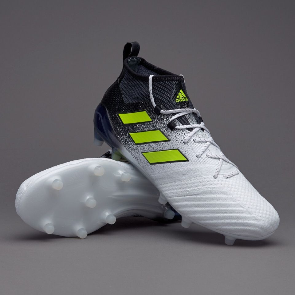official supplier watch best place adidas ACE 17.1 FG - White/Solar Yellow/Core Black | Adidas, Boots ...