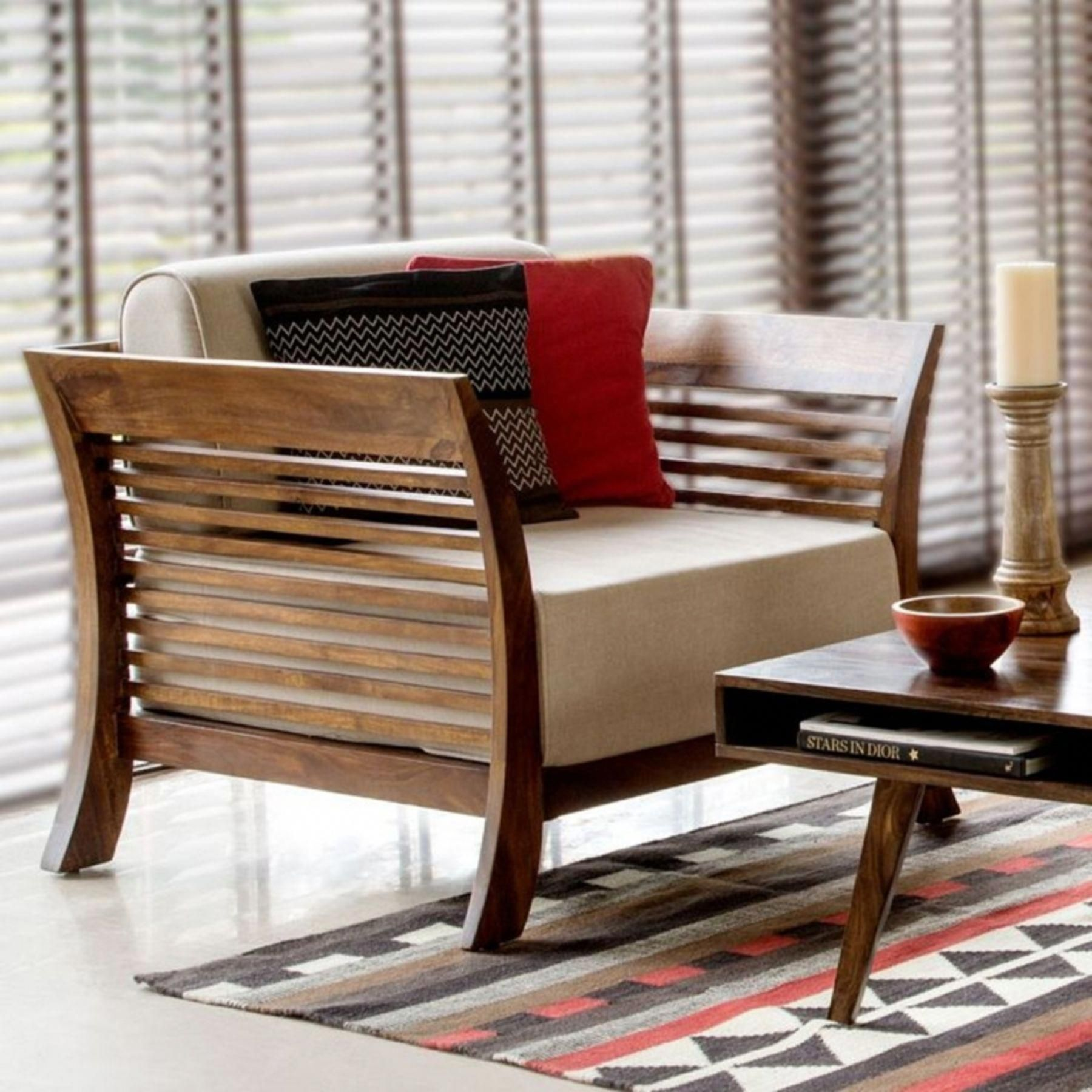 Unique Home Furnishings By Using Current Pattern Makes An Announcement In Your Family See Contempo Furniture Design Wooden Wooden Sofa Designs Wooden Sofa Set