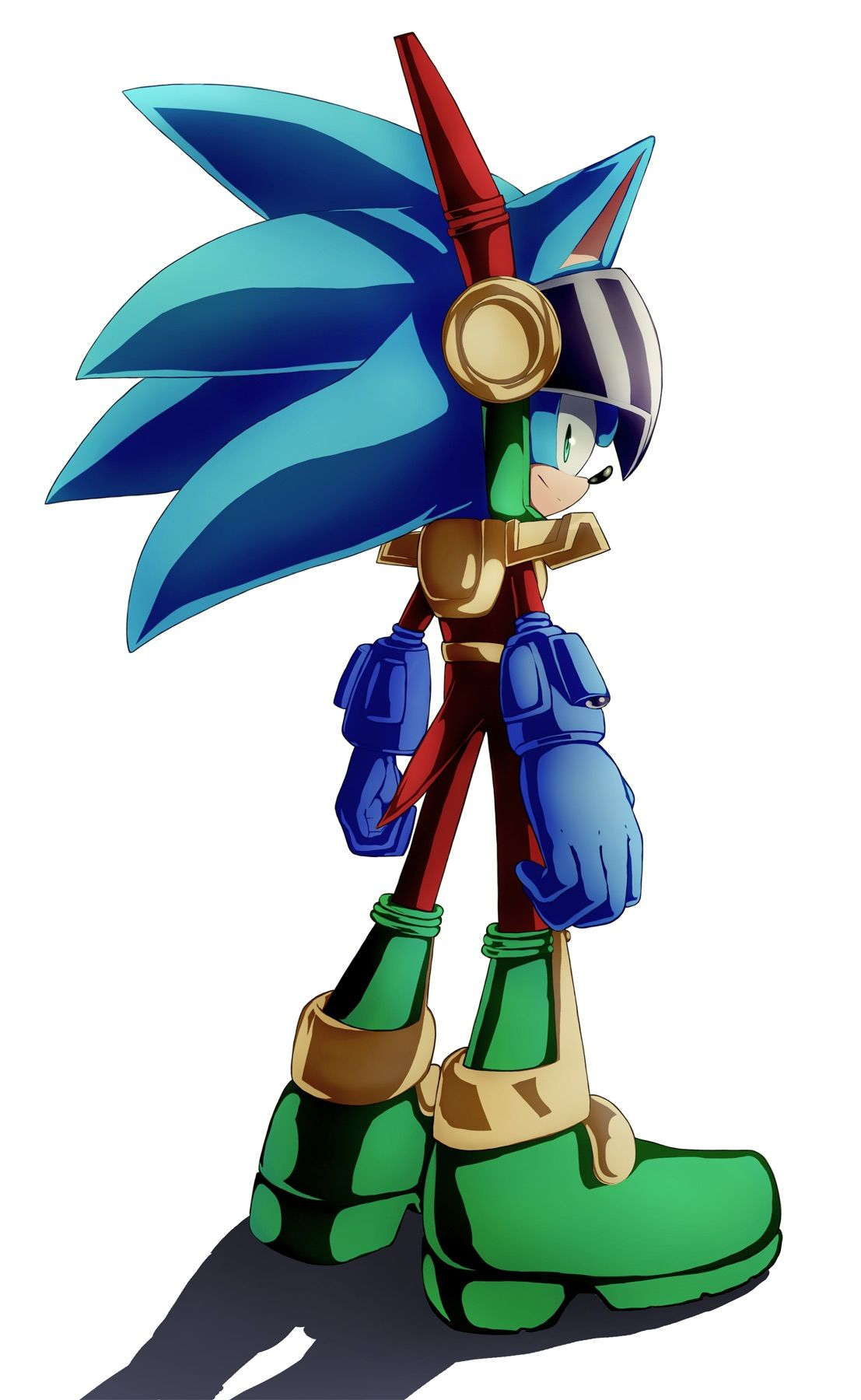 Zonic by AsureTODZone cops are cool | Sonic The Hedgehog ...