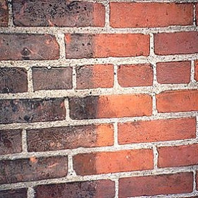 How To Improve The Look Of Red Bricks On An Old House Cleaning Brick Fireplaces Red Brick Walls Red Brick Exteriors