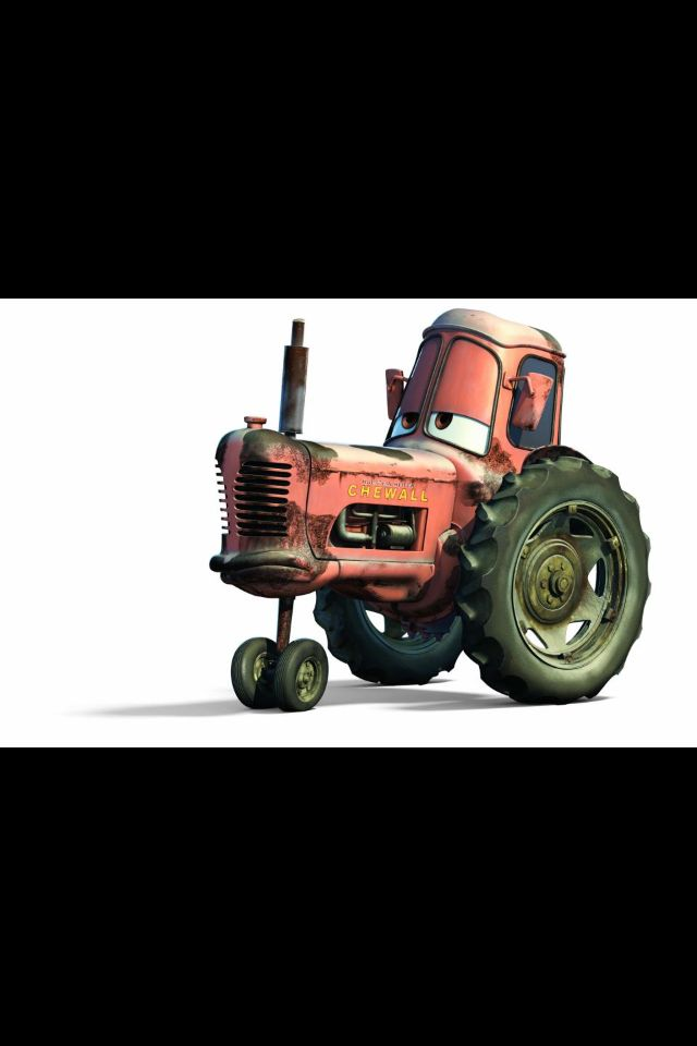 Tractor Tippin Disney Cars Characters Cars Movie Characters