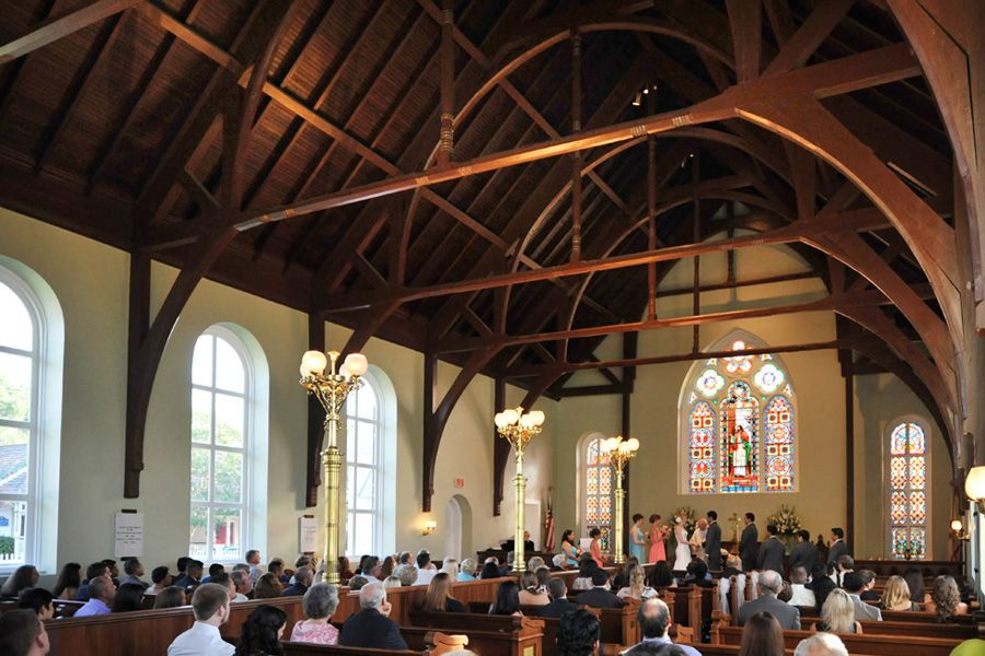 Attend A Wedding In Old Christ Church Pensacola Florida