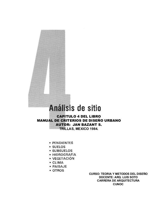 Capitulo 4 Del Libro Manual De Criterios De Diseno Urbano Autor Jan Bazant S Trillas Mexico 1984 Curso Teoria Y M Tech Company Logos Company Logo Ibm Logo