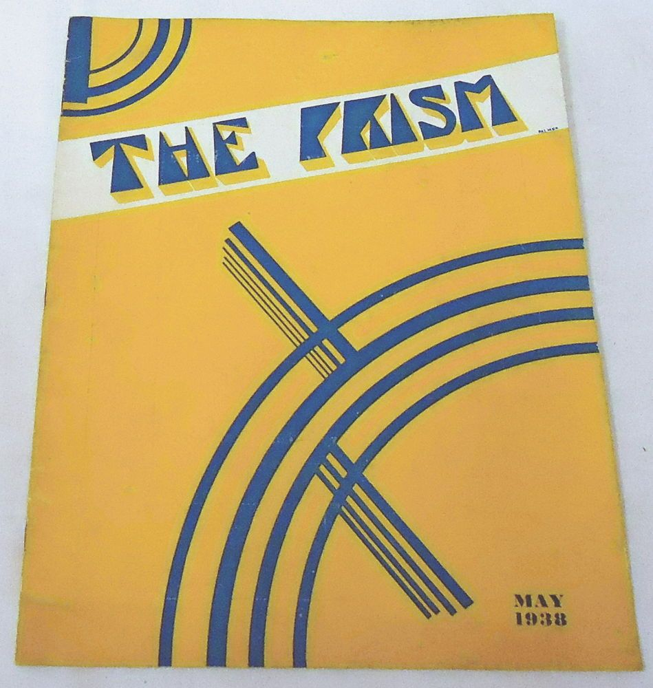 May 1938 THE PRISM ~ Lynchburg College ~ Sigma Tau Delta~ Bernard Reams, more