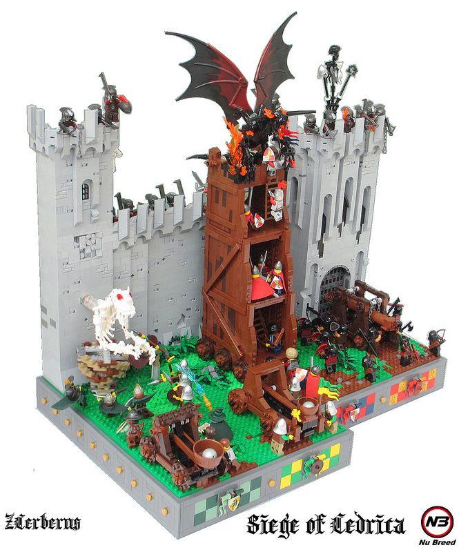 SiegeMain | lego | Lego, Lego design, Lego castle