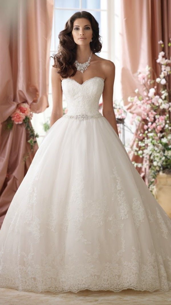 25 The Most Gorgeous Wedding Dresses | One Day... | Pinterest ...