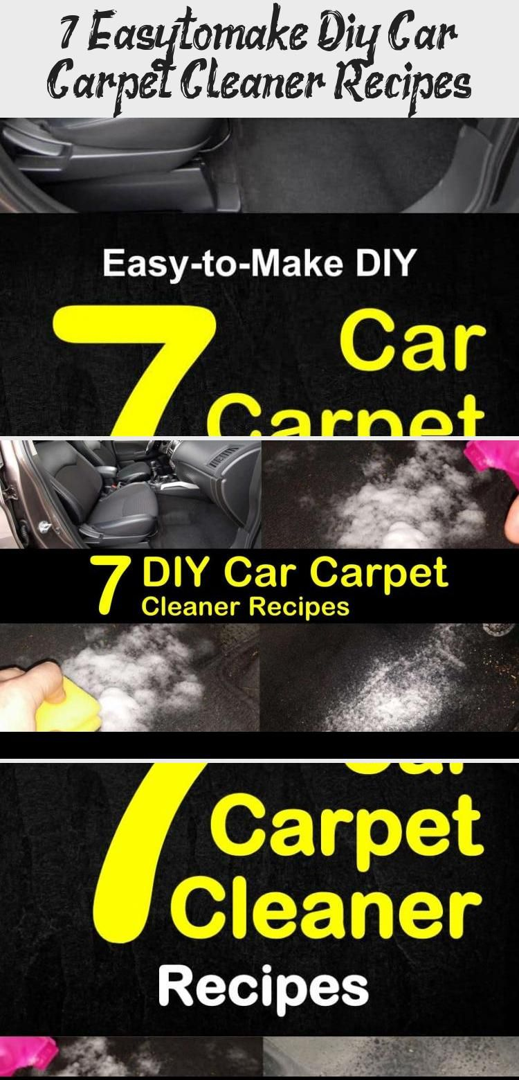 Diy carpet cleaning tips and cleaner recipes including