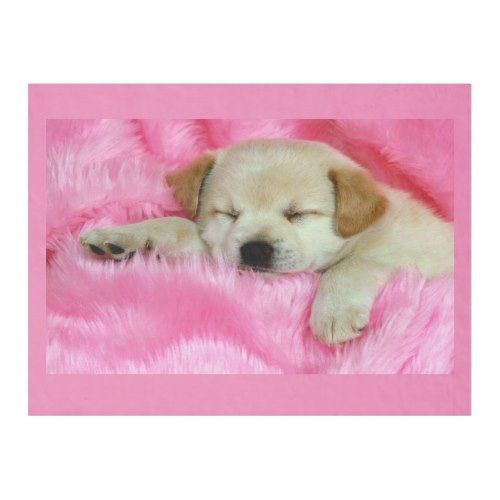 Puppy Dog Sleeping On Pink Fleece Blanket Zazzle Com In 2021 Baby Dogs Cute Baby Puppies Cute Puppies