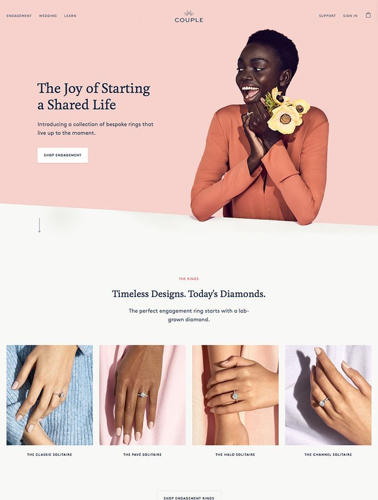 The Best 198 eCommerce Landing Page Design Inspiration