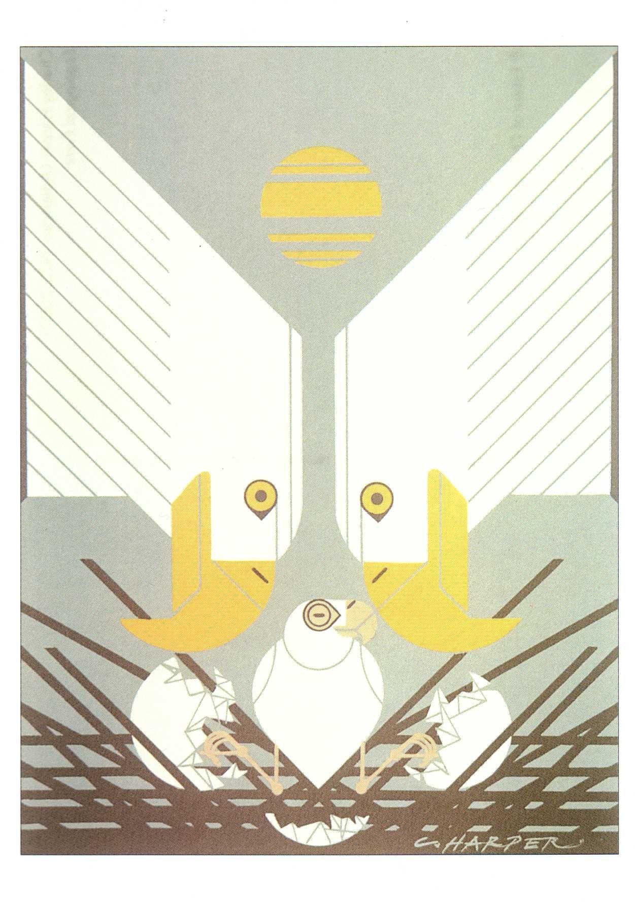 charley Harper, adorable   fan of   Pinterest   Dibujos de pájaro ...
