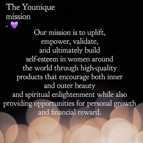 Mission Statement Www Youniqueproducts Com Lexyford Younique Younique Foundation Younique Fun