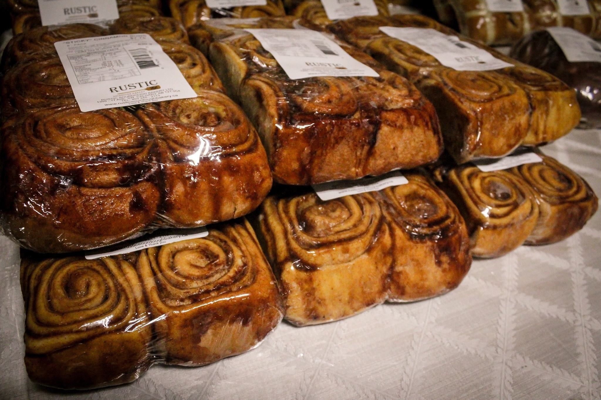 Who else would love to start their day with one of these tasty cinnamon buns? #YYCEats #YYCFood