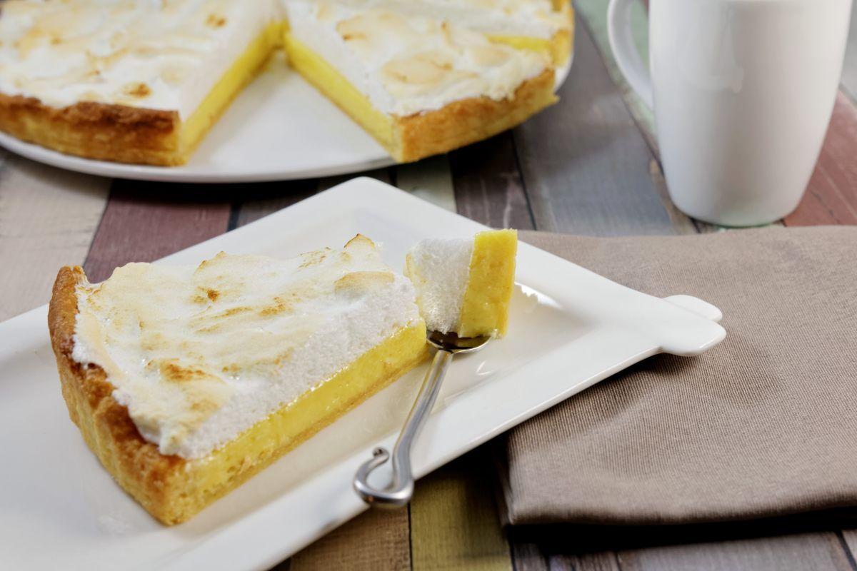 Recette de tarte meringuée au citron vert