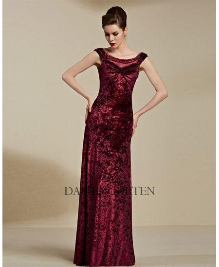 Rot Rückenfrei Abendkleid Für Mutter CYH82121