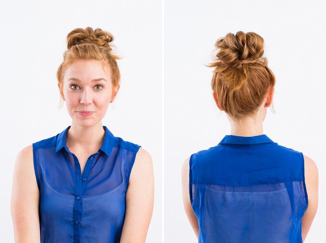 Easy Ways to Braid Your Bangs  Simple braided hairstyles Bangs